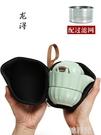 快客杯 龍潯快客杯便攜式旅行茶具套裝簡易一壺一二兩杯陶瓷簡易汝窯茶壺 韓菲兒