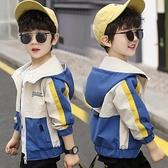男童外套 男童秋裝外套洋氣夾克男孩兒童上衣小孩正韓潮春秋款童裝-Milano米蘭