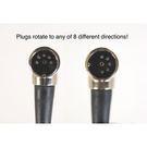 Best-Tronics Right-Angle MIDI Cable 直角MIDI線 1.5ft 45.72cm