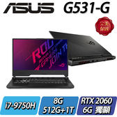 【ASUS華碩】ROG  G531GV-G-0041C9750H     ◢15.6吋頂級電競機 ◣
