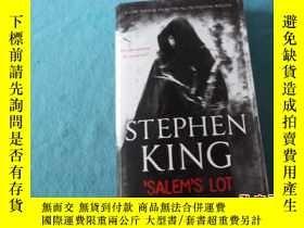 二手書博民逛書店(英文原版)STEPHEN罕見KING SALEM S LOT