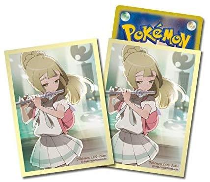 【莉莉艾遊戲卡套 祭壇儀式 64枚】PTCG 日版 Pokemon 皮卡丘 精靈寶可夢卡牌套神奇寶貝【小福部屋】