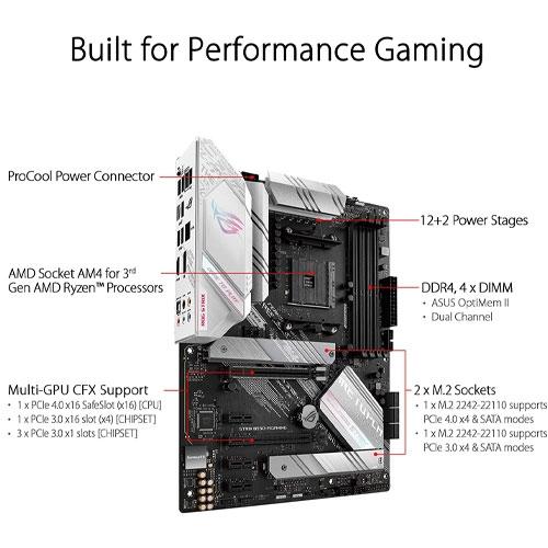 ASUS 華碩 ROG STRIX B550-A GAMING 主機板 AM4 ATX USB3.2-Gen2 Intel-2.5GbE