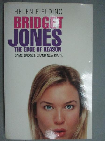 【書寶二手書T2/原文小說_KKM】Bridget Jones - The Edge Of Reason_Helen F