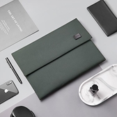 筆電包 筆記本內膽包蘋果macbookpro電腦內膽包14寸適macbookair13.3寸手拿包15.6寸男女款 宜品居家