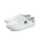 Hello Kitty 凱蒂貓x小丸子 休閒布鞋 懶人鞋 童鞋 白色 大童 HK8703 no798