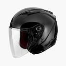 【東門城】SOL SO-7E 素色(黑) 半罩式安全帽 雙鏡片