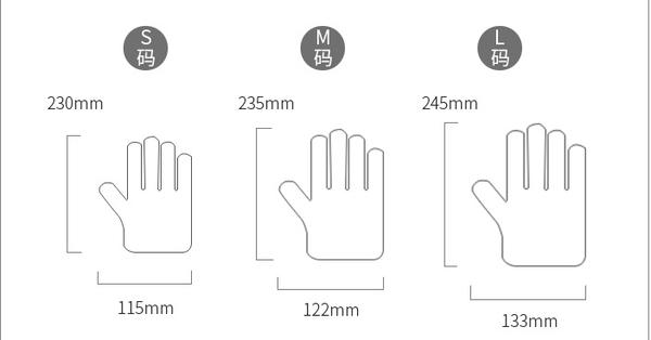 PVC手套 M/S/ (無粉)(100pcs/盒) 拋棄式手套/ 一次性手套/