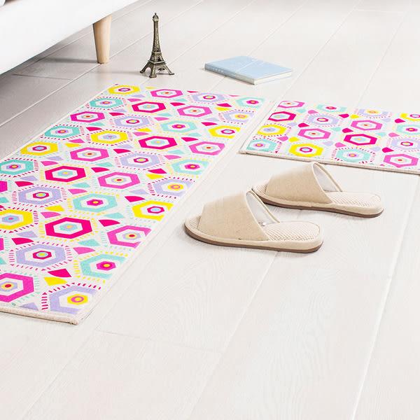 【時尚精品88折】時尚創意地墊28 廚房浴室衛生間臥室床邊門廳 吸水長條防滑地毯(45cm*120cm )