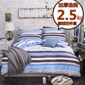 冬季加厚磨絨四件套1.8m保暖床上用品 床單被套宿舍三件套1.2米【七夕節禮物】JY