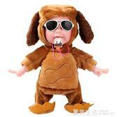 兒童電動會唱歌跳舞狗狗搞笑玩具毛絨娃娃磁控雪糕猴子男女孩禮物『夏茉生活』