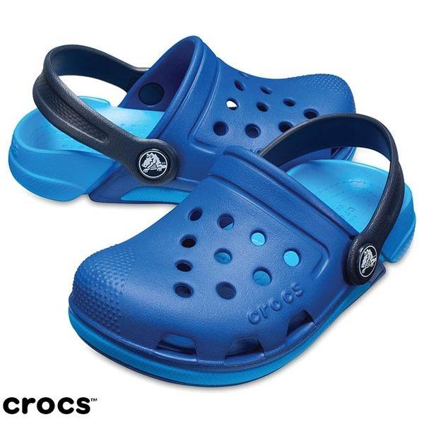 Crocs 伊萊克托3代小克駱格 藍色 小中童鞋 NO.R2593