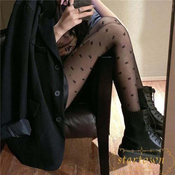 防勾絲蕾絲女薄款洛麗塔絲襪網紗長襪中筒襪子【繁星小鎮】