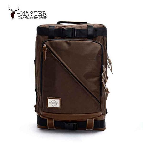 Y-MASTER|城市探險 Y-16BR (咖啡色) - 15.6吋筆電相機後背包
