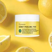 韓國 L arvore 檸檬去角質透亮棉片 70入 ◆86小舖 ◆