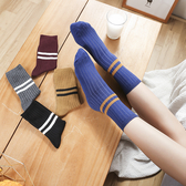 【GZ71】襪子 中筒襪子女韓版學院風百搭純棉長襪堆堆襪