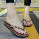防滑情侶人字夾腳拖鞋 男女夏季夾腳涼夾腳拖鞋 舒適厚底平底沙灘浴室夾腳拖鞋 降價兩天