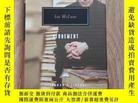 二手書博民逛書店Atonement罕見贖罪 Ian McEwan 伊恩·麥克尤恩 everymans library 人人文庫 英