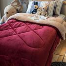 華麗公主 羊羔絨暖被 內有充棉 溫暖舒適 150cmX195cm (正負5cm) 總重約1.8kg