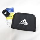 ADIDAS 休閒零錢包 錢包 短夾 5785201 黑 12x10cm【iSport代購】