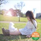 純棉條紋口袋小洋裝 台灣製造