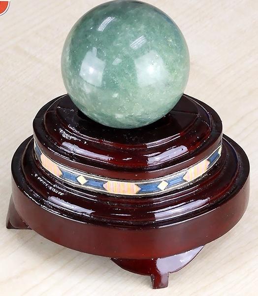 [協貿國際]天然加拿大玉圓球保健球手球單顆價(不含底座)