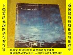 二手書博民逛書店geophysical罕見institute annual re