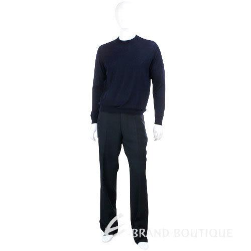 BOSS 條紋西裝褲(黑色) 0520417-01