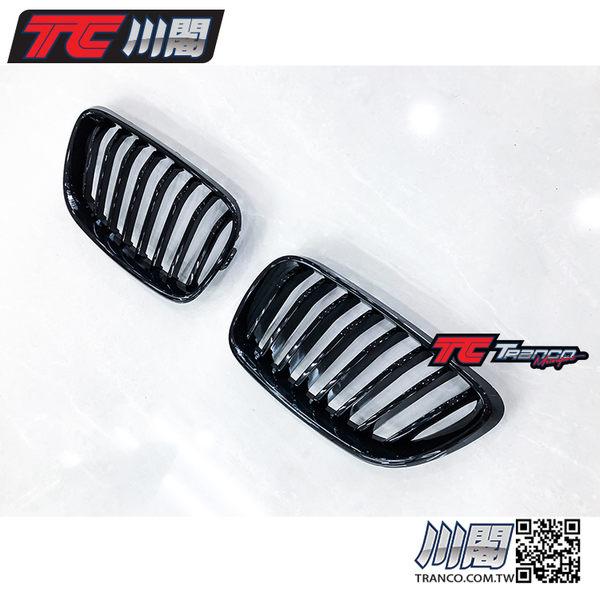 BMW F22 F23 F87 M2 水箱罩 鼻頭 單槓亮黑 2系列 現貨供應 TRANCO 川閣