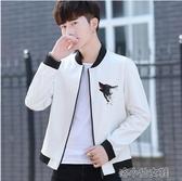 秋冬季韓版修身青年上衣皮衣外套新款潮立領加絨皮夾克 『洛小仙女鞋』YJT