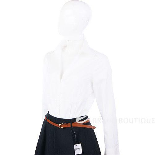STRENESSE 白色V領長袖襯衫 0510081-20
