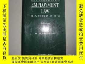 二手書博民逛書店Butterworths罕見employment law han