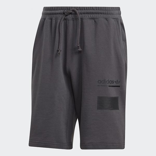 ADIDAS ORIGINAL OUTLINE SHORTS 短褲 深灰 棉褲 男 (布魯克林) 2019/4月 DV1922