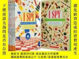 二手書博民逛書店英文繪本I罕見Spy Reader Collection 視覺大