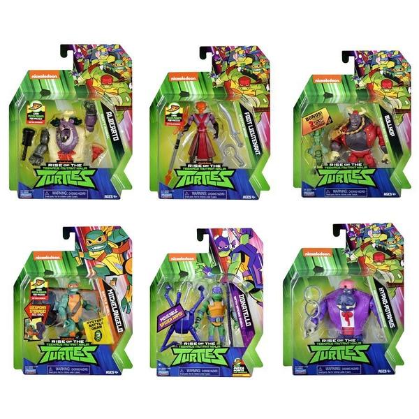 Teenage Mutant Ninja Turtles忍者龜 經典公仔系列 - 隨機發貨 玩具反斗城