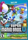 WiiU New Super Mario Bros. U New 超級瑪利歐兄弟 U(美版代購)
