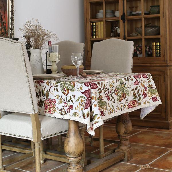時尚優雅空間餐桌布 茶几布 隔熱墊 鍋墊 杯墊 餐桌巾65 (90*140cm)
