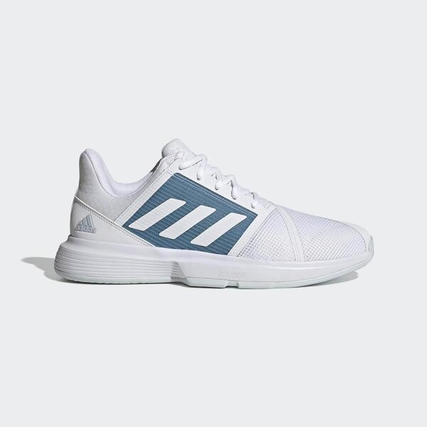 Adidas Courtjam Bounce M [FX1492] 男鞋 運動 休閒 慢跑 網球 舒適 透氣 愛迪達 白