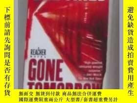 二手書博民逛書店英文原版罕見Gone Tomorrow by Lee Child