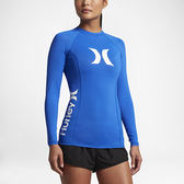 Hurley ONE & ONLY LONG SLEEVE RASHGUARD 長袖防磨衣-藍(女)
