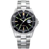 Olympia Star奧林比亞之星 都會菁英潛水氚氣石英腕錶