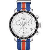點燃籃球魂 TISSOT 天梭 X NBA :紐約尼克隊特別版手錶-42mm T0954171703706