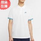 【現貨】NIKE AIR POLO 男裝 短袖 休閒 透氣 全棉 白 藍【運動世界】CW5248-100