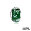 綠色精品琉璃珠  潘朵拉風DIY串珠手鍊配件