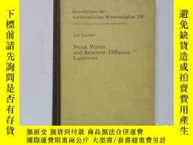 二手書博民逛書店舊書外文《Shock罕見Waves and Reaction-Diffusion Equations》激波與反應擴