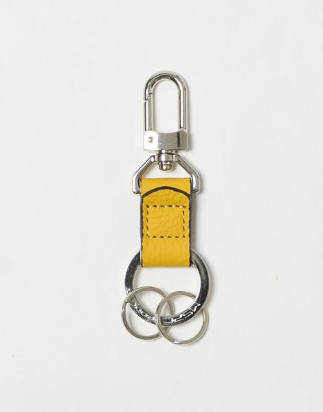 MSPC(master-piece) ROUND No.601025-MUSTARD [高質感日本小牛皮鑰匙包-芥末黃色]