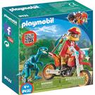 摩比積木 playmobil 多倫多猛龍與摩托車