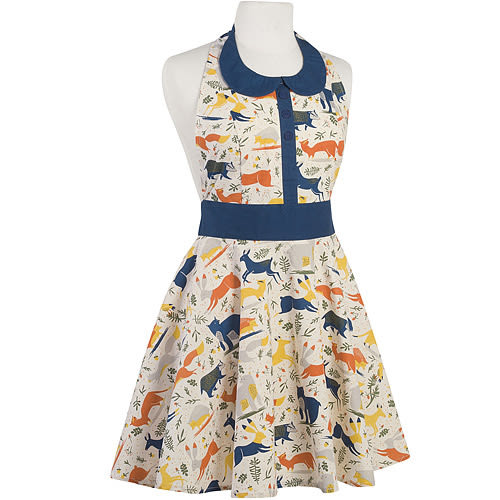 NOW 洋裝式圍裙(馴鹿)