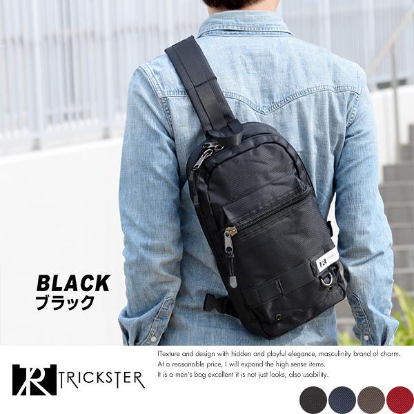 限量現貨【TRICKSTER】日本品牌 斜背包 6個收納袋 腳踏車包 B5 單肩背包IPAD專用 多夾層機能【tr002】