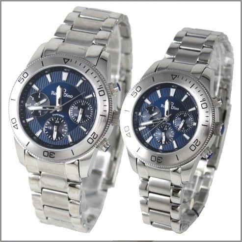 【萬年鐘錶】 Roven Dino 羅梵迪諾 楊丞琳代言 藍對錶 RD615-RD616